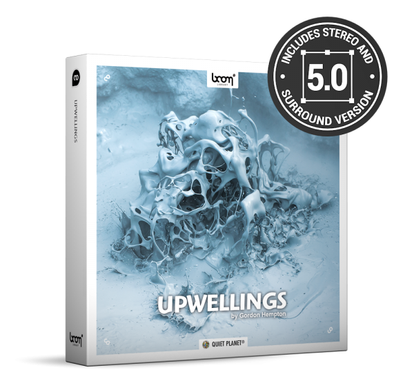 Upwellings Nature Ambience Sound Effects Library Product Box