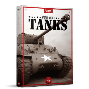 WW2 Tanks Sound Effects Library Product Box