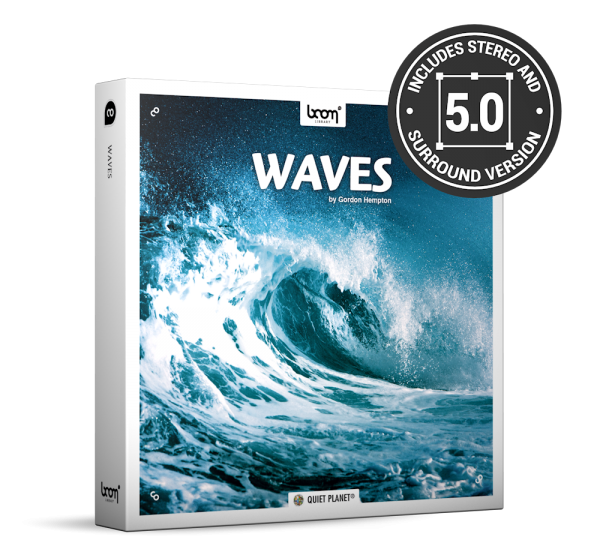 Waves Nature Ambience Sound Effects Library Product Box