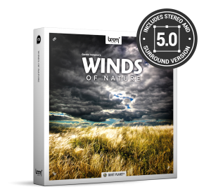 Winds Of Nature Nature Ambience Sound Effects Library Product Box Wind Sounds