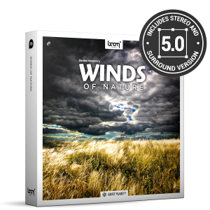 Winds Of Nature Nature Ambience Sound Effects Library Product Box