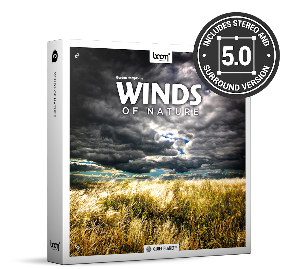 Wind Sounds | Winds of Nature | BOOM Library