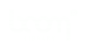 BOOM Library Logo White FullHD