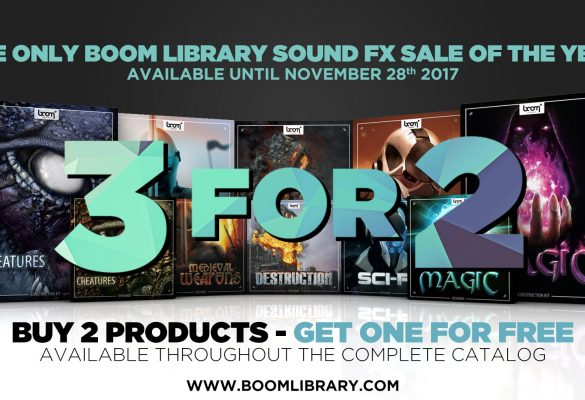 [NEWS] BOOM Library 3FOR2 Raffle Announcement