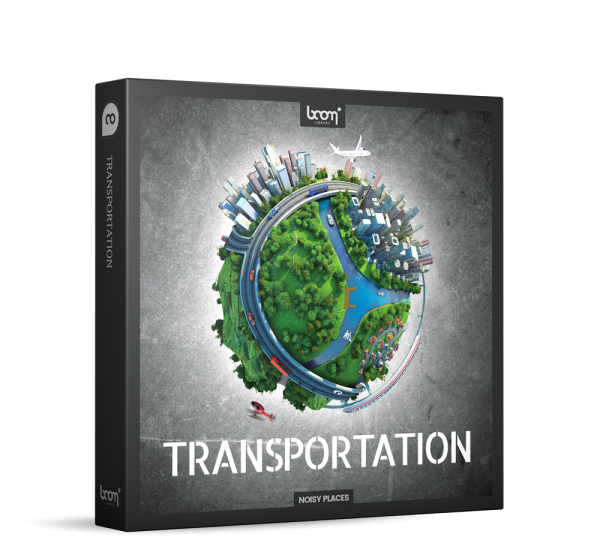 Transportation Sound Effects by Boom Library Product Box