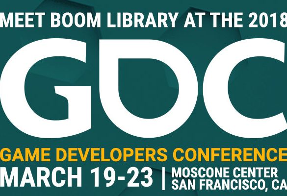 Meet BOOM Library at GDC