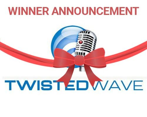 TwistedWave Audio Editor | Review & Raffle