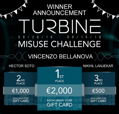 Turbine Contest | Winner Announcement