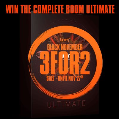 Limited Raffle: Win The Complete BOOM Ultimate