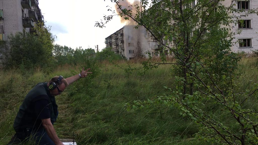 Urban Explosions Sound Effect Recording