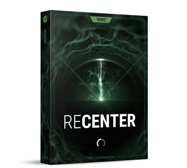 ReCenter Stereo Fix Plug-In Packshot Product