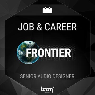 Senior Audio Designer (FRONTIER DEVELOPMENTS)