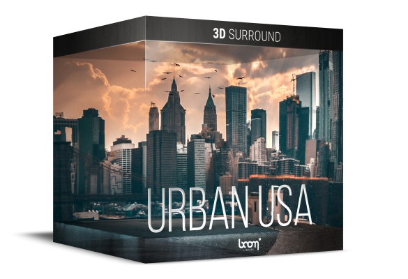 URBAN USA – 3D SURROUND