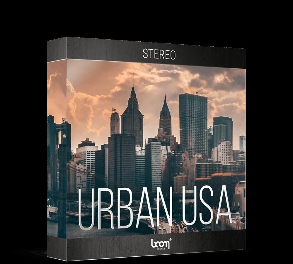 BOOM Library Urban USA Packshot