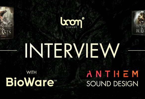 Anthem Creature Sound Design: Interview