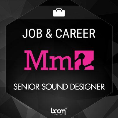 Senior Sound Designer Media Molecule BOOM