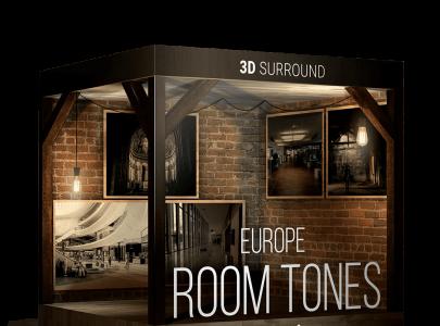 NEW ROOM TONES EUROPE – 3D SURROUND