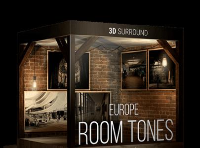NEW: ROOM TONES EUROPE – 3D SURROUND