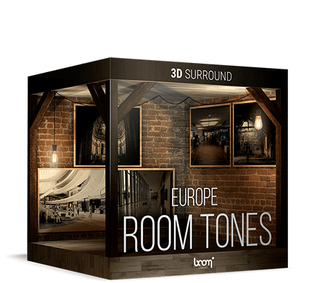 NEW: ROOM TONES EUROPE – 3D SURROUND