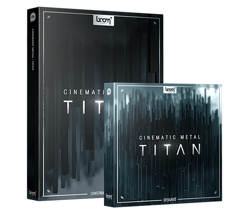 Cinematic Metal Titan Sound Effects Collection by BOOM Library Product Packshot