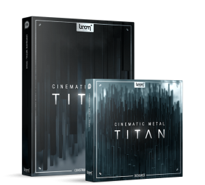 Cinematic Metal - Titan Bundle by BOOM Library contains Construction Kit and Designed edition