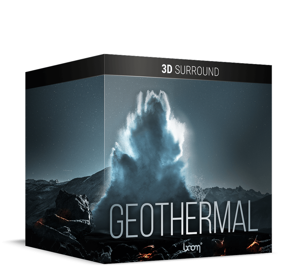 Geothermal 3D Surround Artwork