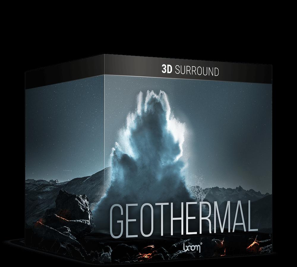 Geothermal 3D Surround Artwork