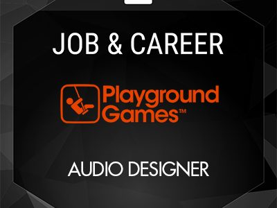 Audio Designer (Playground Games)