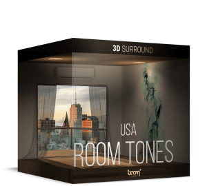 Room Tones USA Packshot 3D Surround