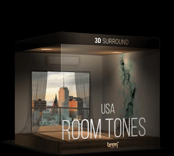 Room Tones USA Packshot 3D Surround
