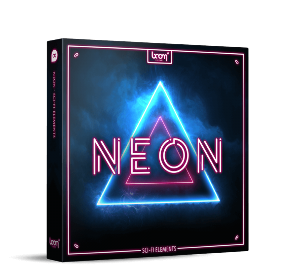 NEON Sci Fi Sound Effects BOOM Library