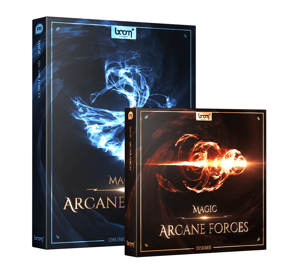 Magic Arcane Forces Bundle Packshot Boom Library
