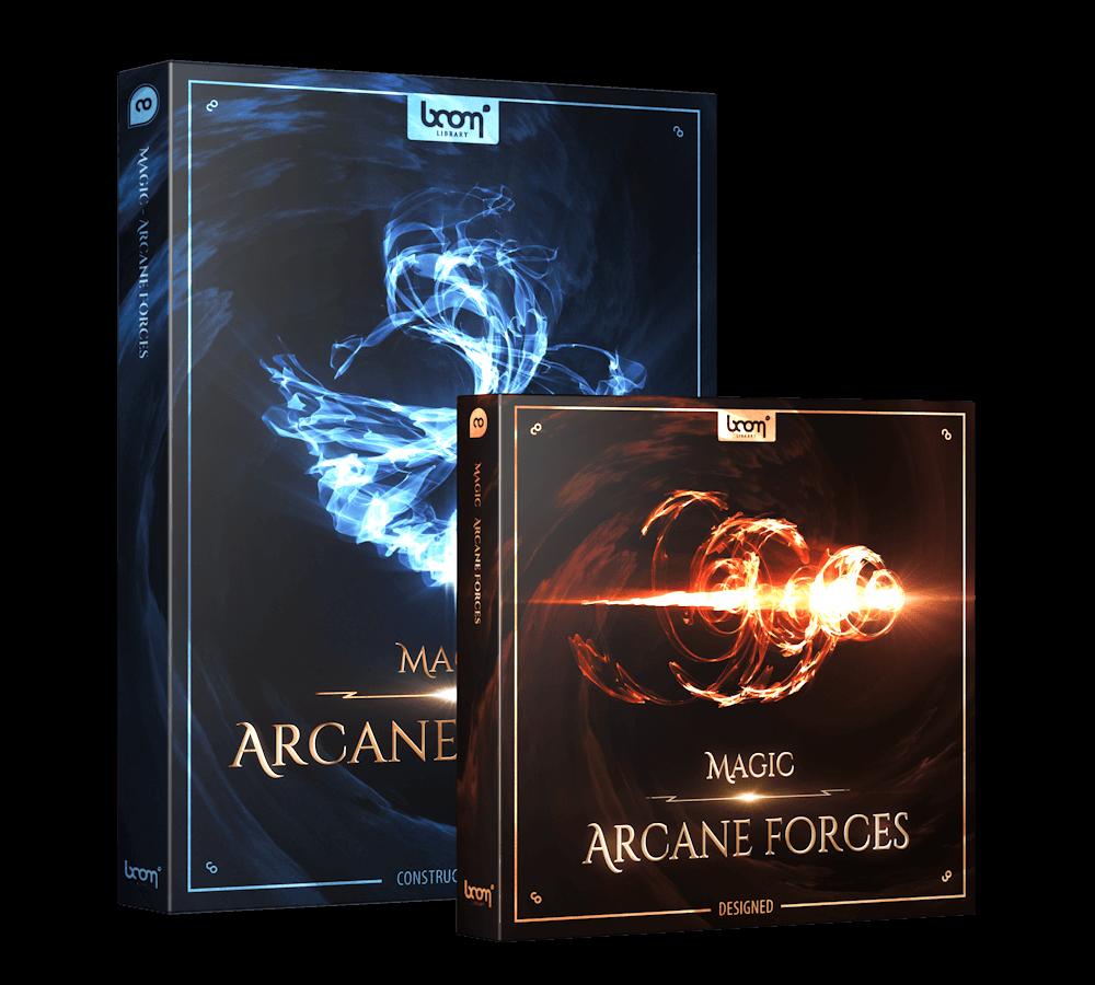 Magic Arcane Forces Bundle Packshot - Magic Sound Effects - Boom Library