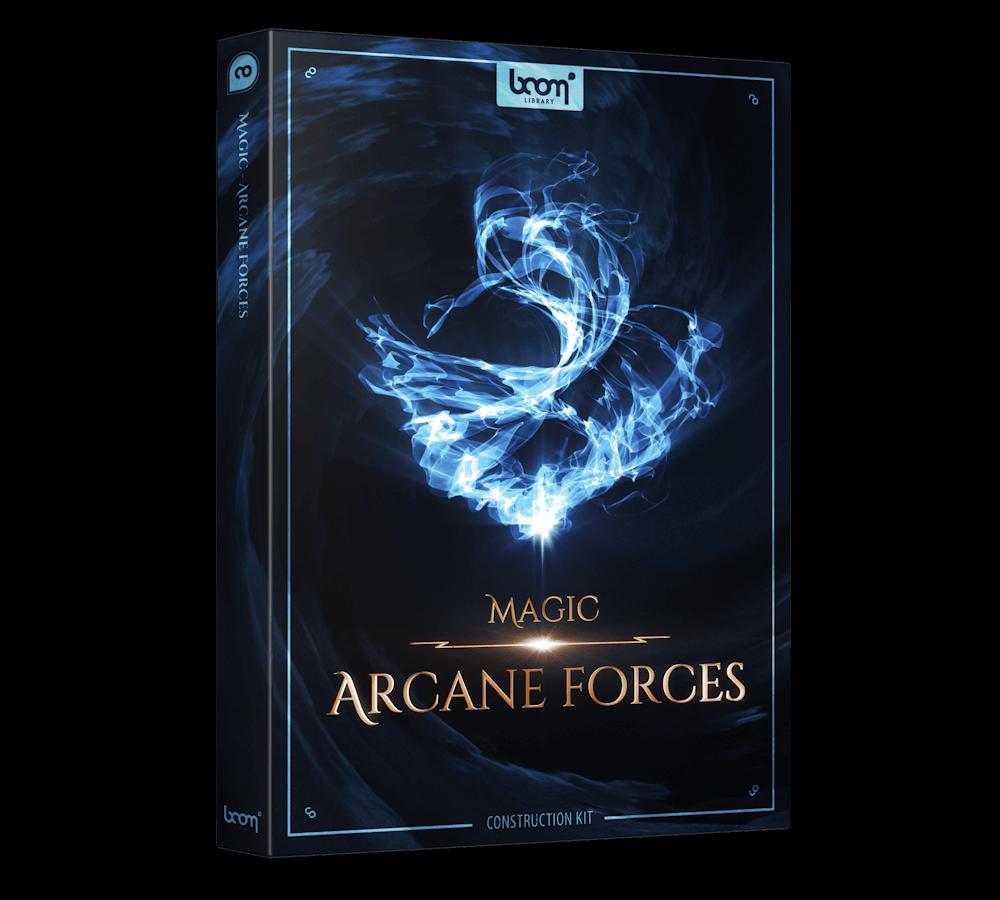 Magic Arcane Forces Construction Kit Packshot Boom Library