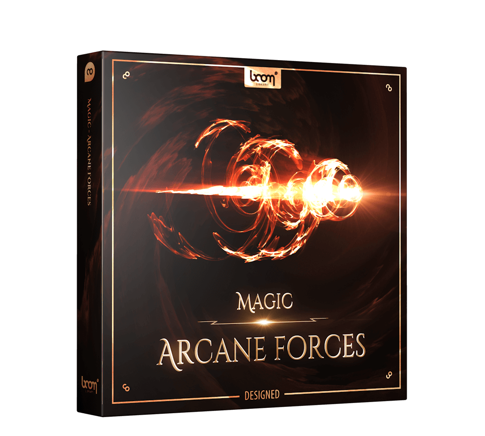 Magic Arcane Forces Designed Packshot Boom Library