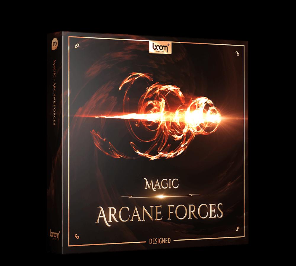 Magic Arcane Forces Designed Packshot Boom Library