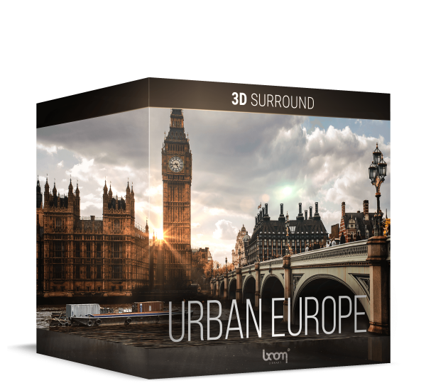 Urban Europe 3DS Artwork