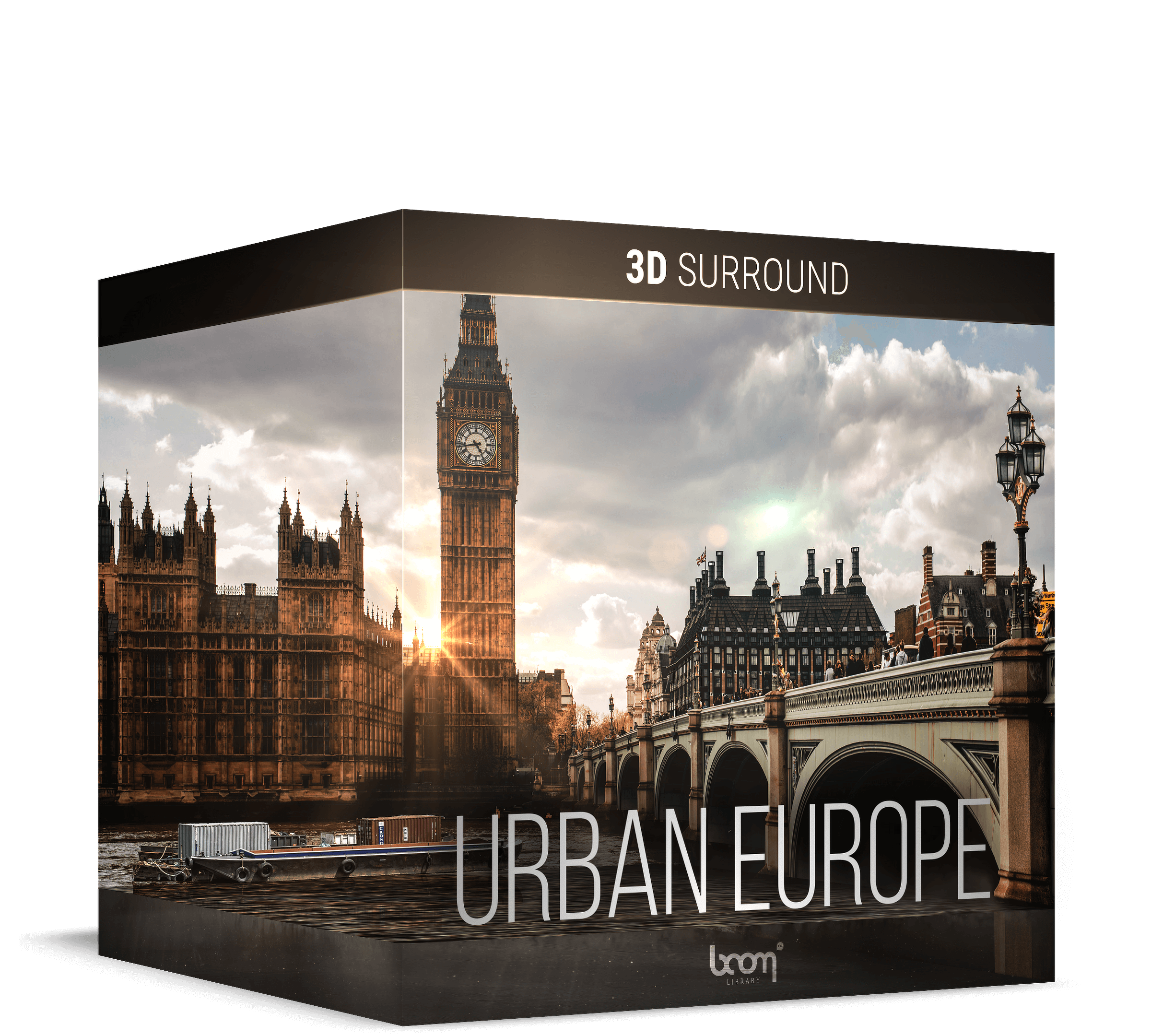Urban Europe 3DS Artwork