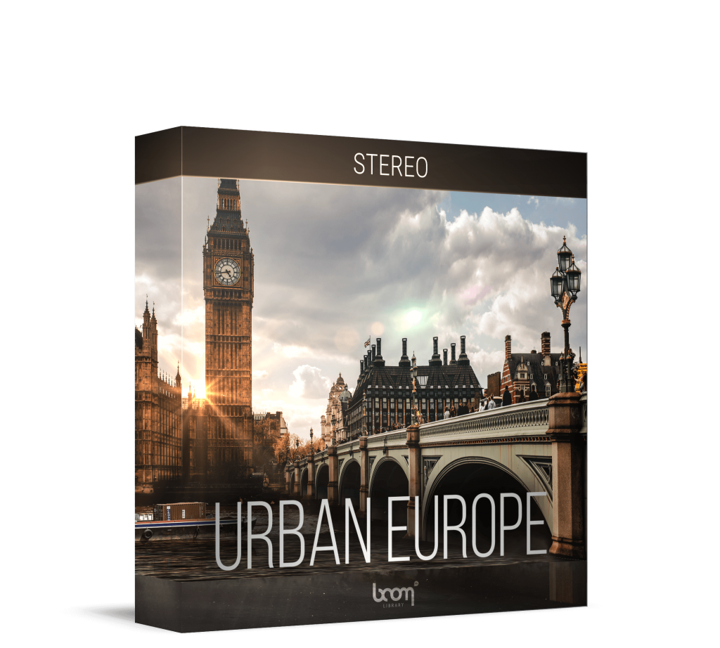 Urban Europe Stereo Artwork