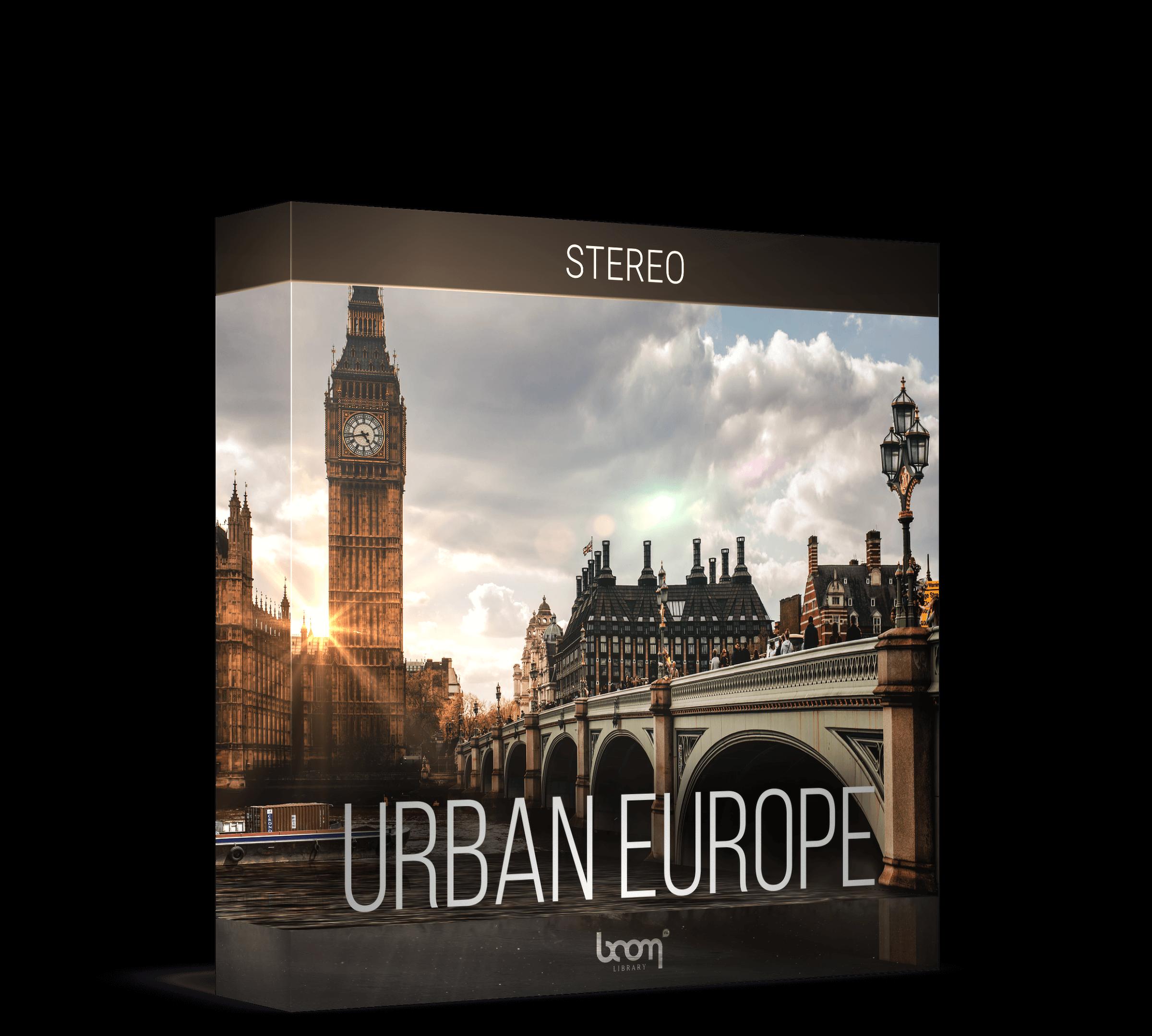 Urban Europe Stereo Artwork