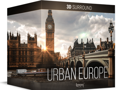 NEW: URBAN EUROPE – 3D SURROUND