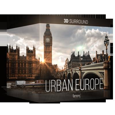 NEW: URBAN EUROPE – 3D SURROUND