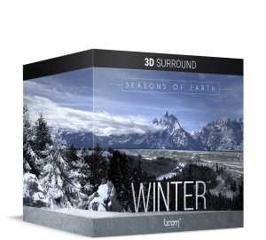 BOOM Library Earth's Seasons Winter 3D Surround Packshot