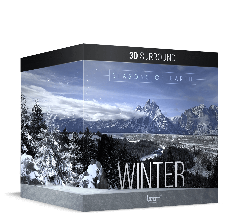 BOOM Library Earth's Seasons Winter 3D Surround Packshot