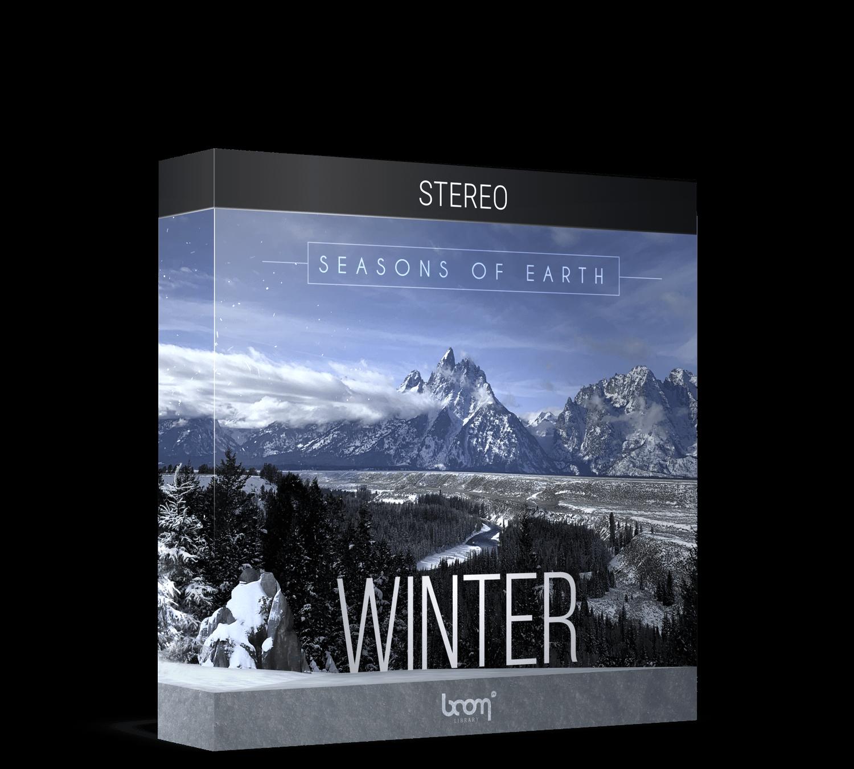 BOOM Library Earth's Seasons Winter Stereo Packshot
