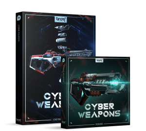 Cyber Weapons Bundle Packshot Boom Library