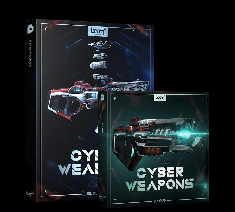 Cyber Weapons Bundle Packshot Boom Library