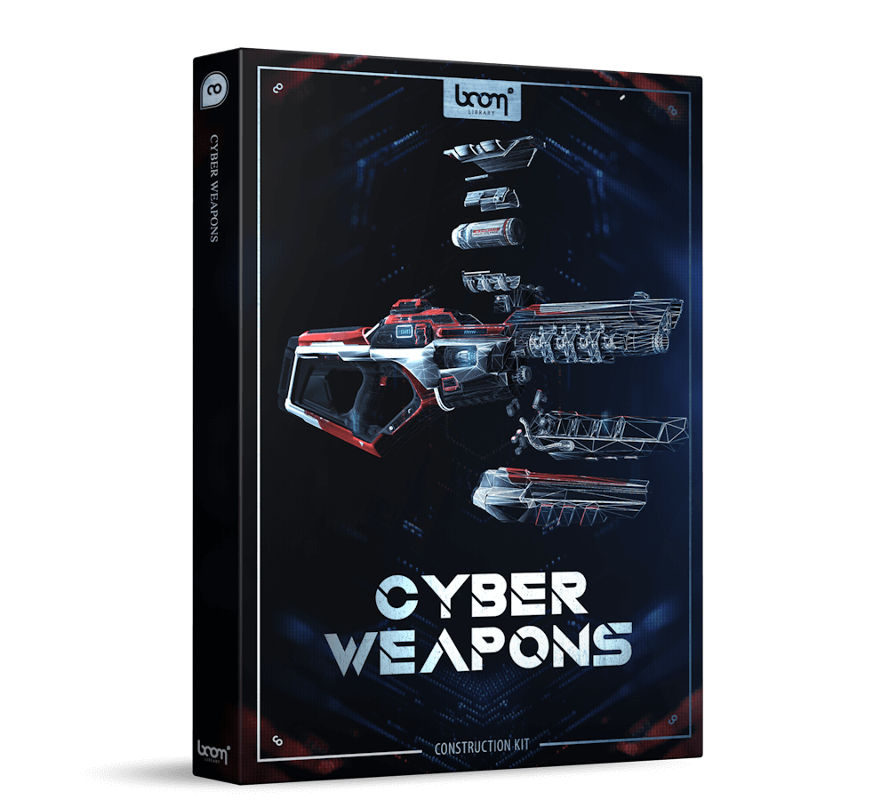Cyber Weapons Construction Kit Packshot Boom Library