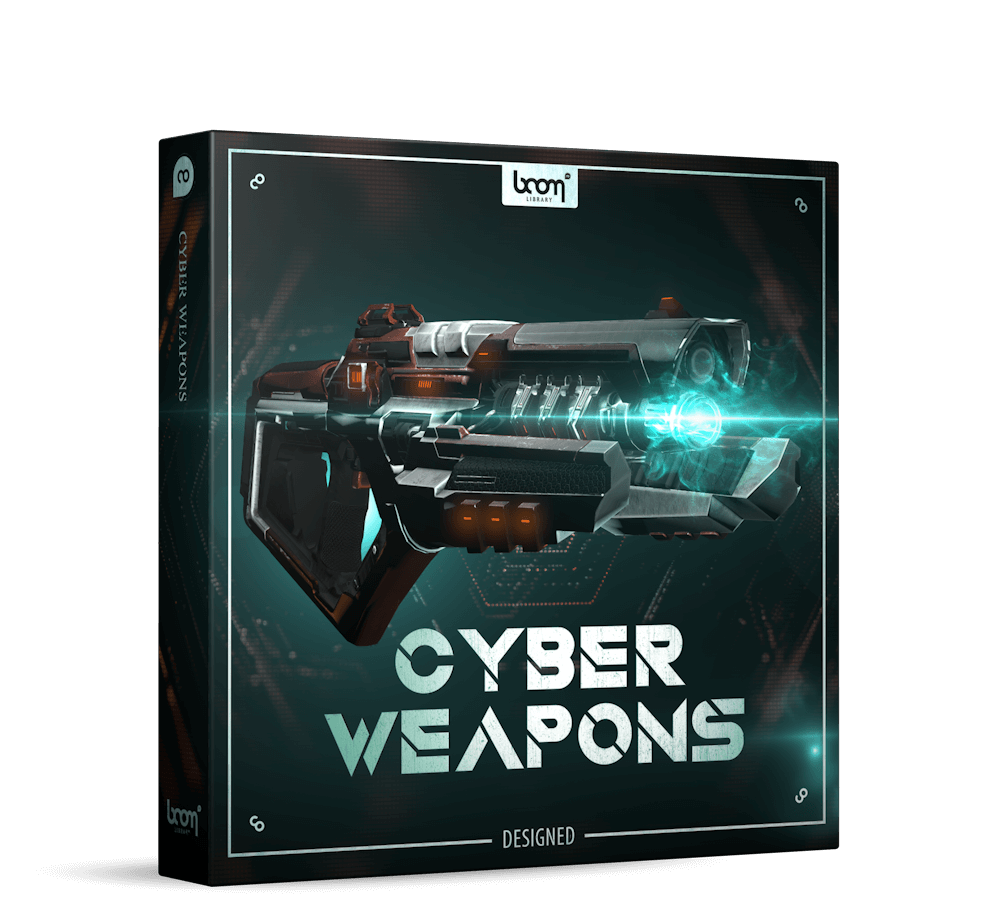 Cyber Weapons Designed Packshot Boom Library