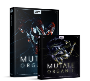 mutate organic, library, sfx, sound design, sound effects, boom library